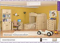 """Детская модульная система """"Валенсия"""" дуб самоа от """"Мебель сервис"""""""