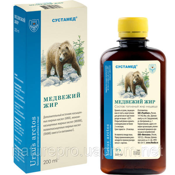 Наружное применение медвежьего жира