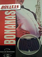"""Трусы мужские боксеры (батал) """"BONANAS"""" B930 (В.И.Т.)"""