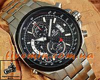 Мужские наручные часы Casio Edifice EFR-501SP-1AV с будильником хронограф японское качество касио