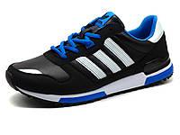 Кроссовки Adidas Classic мужские, черные, кожаные, фото 1