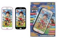 Детский интерактивный развивающий телефон Щенячий Патруль (Paw Patrol): 2 цвета