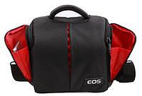 Сумка -чехол Canon EOS. Оригинал. Качество. Полуспорт сумка. сумка для фотоаппаратов. Дешево. Код: КСМ111