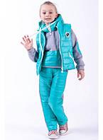 """Детский костюм-тройка для девочки """"City"""""""