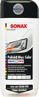 Полироль с воском цветной для кузова Sonax NanoPro 296041