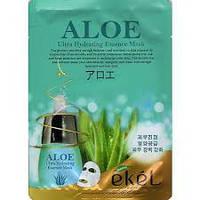 Тканевая маска для лица EKEL Aloe essence mask