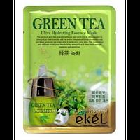 Тканевая маска для лица EKEL Green tea essence mask