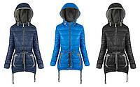 Удлиненная женская демисезонная куртка,осенняя женская куртка