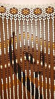 Декоративные шторы из дерева