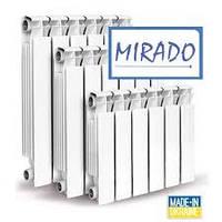 Алюминиевые радиаторы отопления Mirado 96х500 Одесса