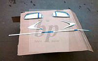 Хром пакет: комплект хром накладок Chevrolet epica (шевроле эпика 2006+)