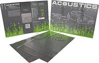 Шумо- виброизоляция аcoustics 3,0мм 700x 500