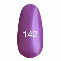 Гель-лак Kodi № 142 фиолетовый с перламутром, 12мл