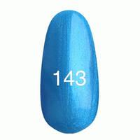 Гель-лак Kodi № 143 синий с перламутром, 12мл