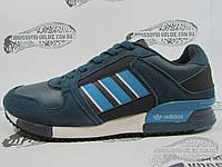 Кроссовки мужские Adidas ZX 630, бирюзовые с серым