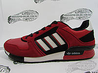 Кроссовки мужские Adidas ZX 630, красные с чёрным
