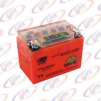 Аккумулятор гелевый 12в 4a YTX4L-BS I-GEL на скутер (с индикатором заряда), OUTDO