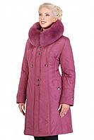 Качественное зимнее пальто  с капюшоном от производителя