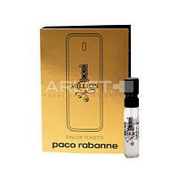 Paco Rabanne 1 Million  - Туалетная вода (Оригинал) 1,5ml (пробник)