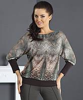 Женская блуза с рисунком. Модель Temida Top-Bis irse.com.ua.