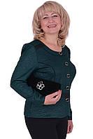 Классический женский  пиджак большого размера от производителя