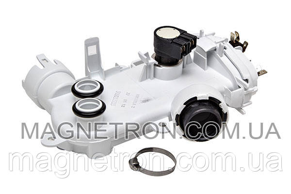 Тэн проточный с термосенсором и распределителем потока для посудомоечной машины Bosch 483355, фото 2