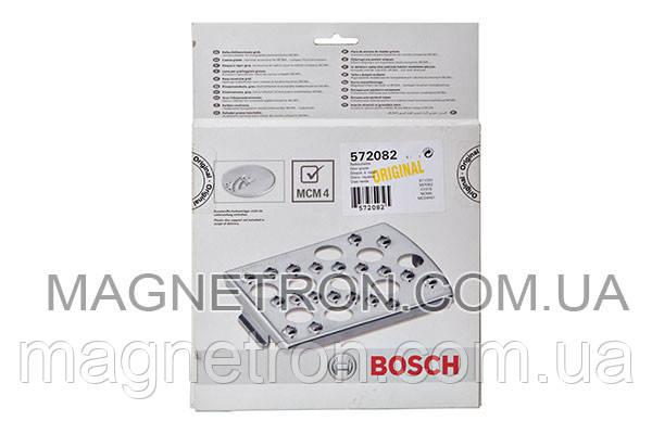Вставка - терка MCZ4RS1 для кухонного комбайна Bosch MCM4 572082 (крупная), фото 2