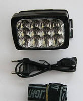 Аккумуляторный налобный фонарик