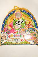 Детский развивающий коврик 898-211 с игрушками на подвеске