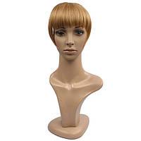 Накладная челка из натуральный волос. Цвет #16 Золотой Блонд
