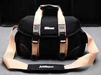 Сумка - чехол Nikon . Оригинал. Качество. Полуспорт сумка. Сумка для фотоаппаратов. Дешево. Код: КСМ116