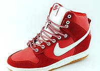 Сникерсы Nike красные Д400