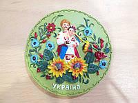 Интересный подарок из Украины - магнит-панно на холодильник