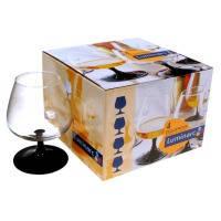 """Набор бокалов для коньяка LUMINARC """"Домино"""" 410 мл. 4 шт."""