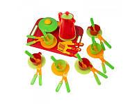 Набор детской игрушечной посуды Kinderway 04-425, 36 предметов