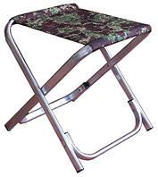 """Стульчик складной туристический, алюминиевый кемпинговый стул """"БОГАТЫРЬ"""""""