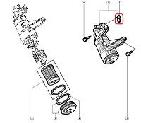 Прокладка корпуса масляного фильтра Рено Мастер 2.5dCi - 01->(99/101/114/115л.с) Renault (оригинал) 7701048885