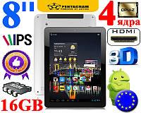 Игровой планшет 8  IPS 4 Ядра 16 GB