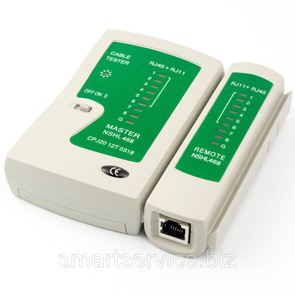 схема тестера для прозвонки кабелей