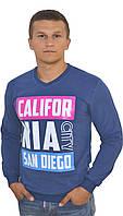 Модный мужской реглан в синем цвете  CALIFORNIA CITY