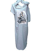 Женское платье трикотаж двухнитка