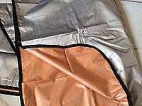 Термоодеяло (спасательное одеяло) из металлизированной фольги