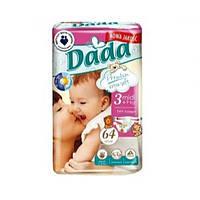 Підгузники дитячі DADA Premium (3) midi 4-9кг 64 шт