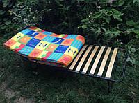 Раскладная кровать на ламелях с подголовником «Нова»