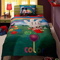 TAC Disney постельное бельё Mickey Mouse Club House Colors (Микки Маус клаб)