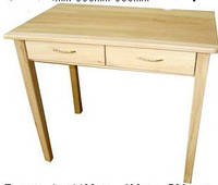 Деревянный стол с ящиками из массива БУКА