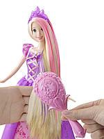Кукла Принцесса Рапунцель меняет цвет волос с волшебной расческой