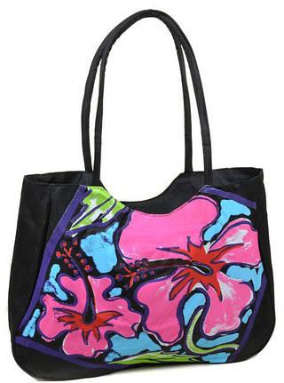 Практичная пляжная сумка Podium 1353 black, черный