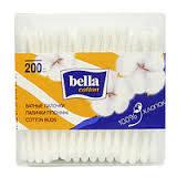 Ватные палочки 200 шт. (пласт упаковка) Белла Bella