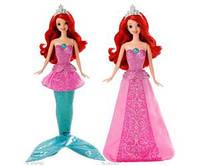 Поющая кукла-русалка Ариэль 2 в 1 Disney Princess Mermaid to Princess Singing Ariel
